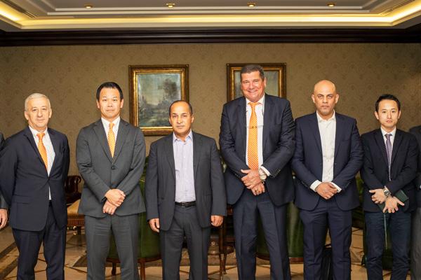Hitachi announces a new dealer in Jordan